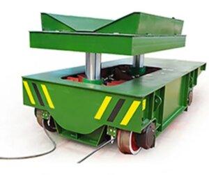 Steel coil transfer car