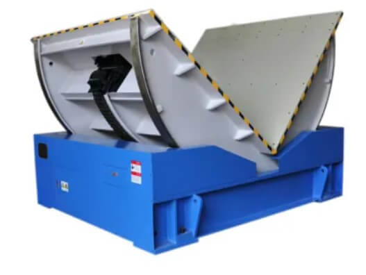 mold rolling machine for mold flipping and turnover