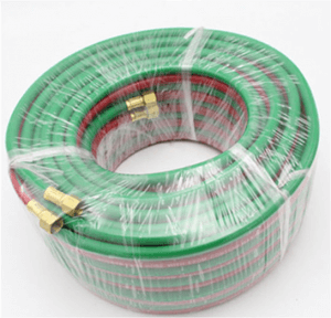 hose coil wrapping machine