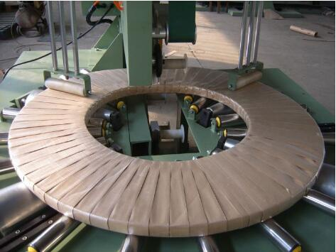 steel coil wrapping machine packing steel strip coils
