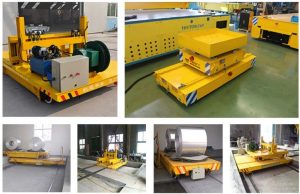 steel coil transverser and cart