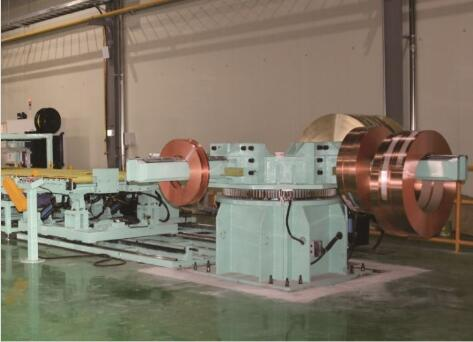 automatic slit steel coil and copper coil packing line