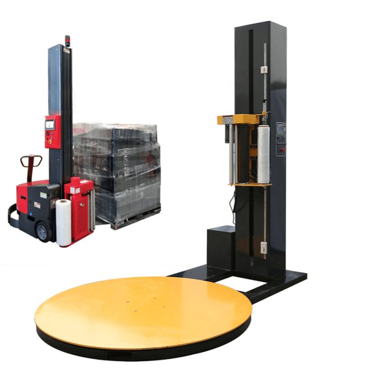 new technology of pallet stretch wrapping machine