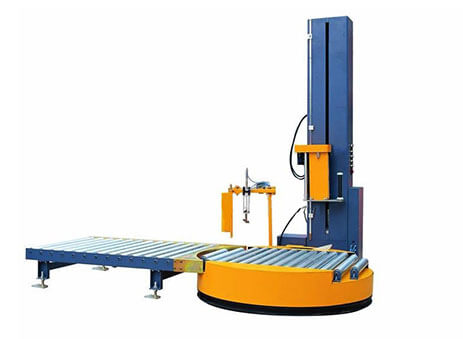 fully automatic inline pallet wrapper