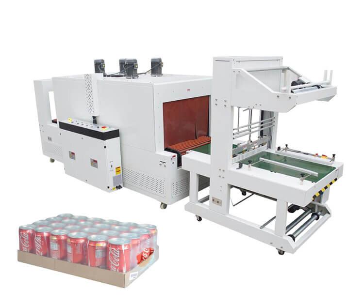 thermal sleeve sealing shrink wrap packer machine