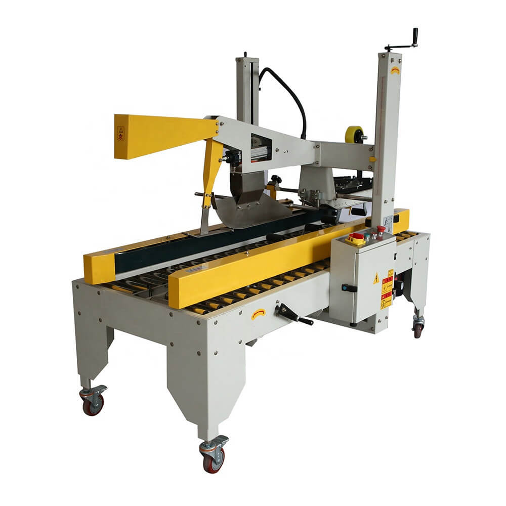 automatic carton box sealer machine